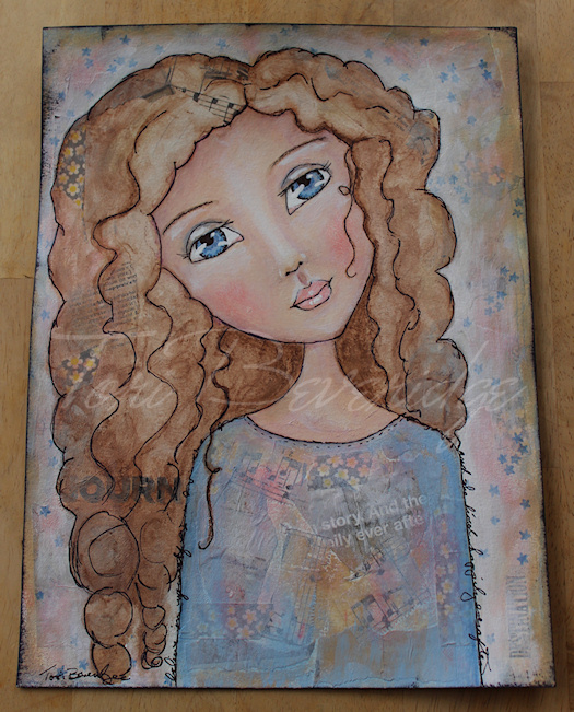 She Lived Happily Everafter by Tori Beveridge 2015