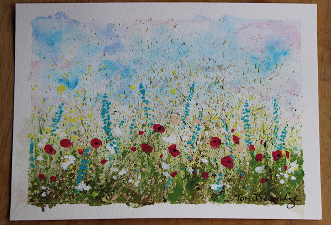 Splatter Wildflowers by Tori Beveridge1