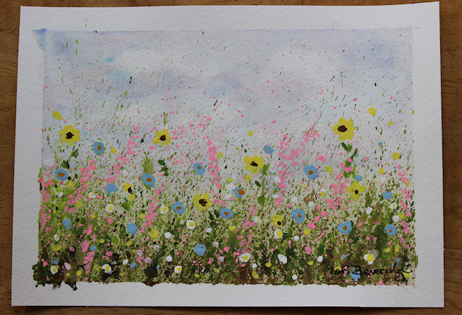 Splatter Wildflowers by Tori Beveridge2