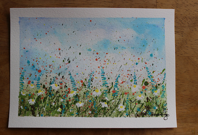Splatter Wildflowers by Tori Beveridge4
