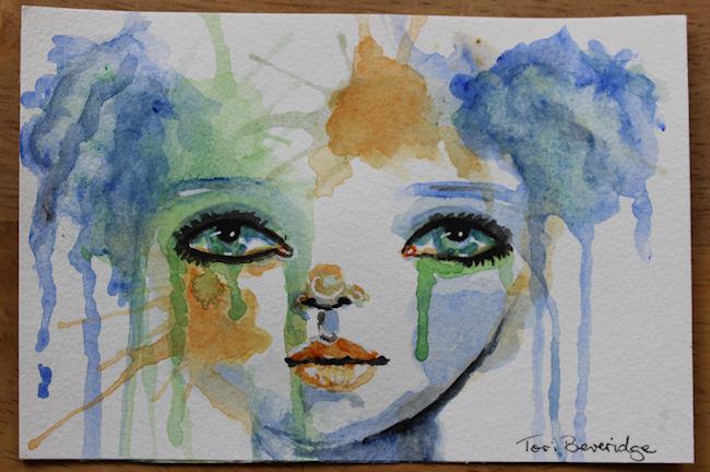 30 in 30 painting 9 by tori beveridge 2016