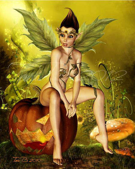 pumpkin hot seat by tori b2010smwmfb