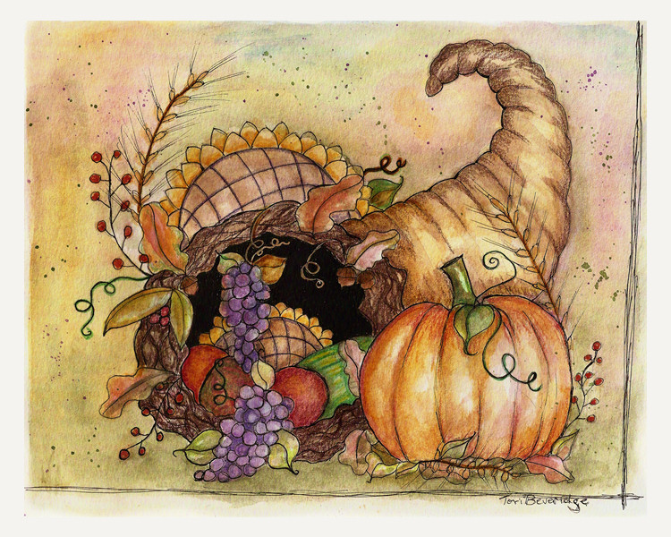 cornucopia by tori beveridge