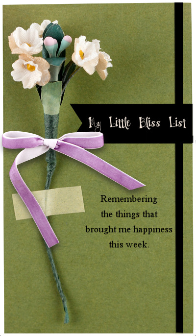 My Little Bliss List