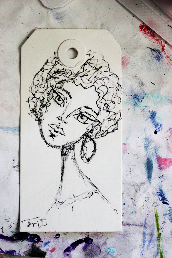 Speed Tag Sketch by Tori Beveridge
