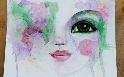 Face10 Green Eyed Lady by Tori Beveridge2016