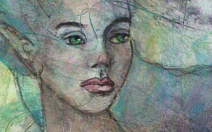 A Mermaid by Tori Beveridge Close UP